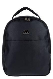 Темно-синий рюкзак с широкой ручкой Armani Exchange