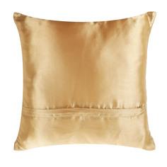 Подушка декоративная Wonne traum 45х45 17-06 золотая полоска