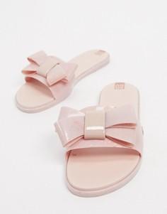 Розовые шлепанцы с бантом Zaxy-Розовый