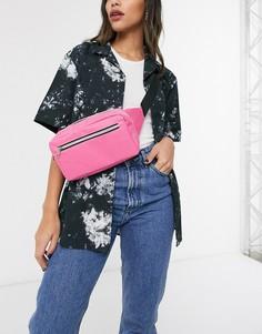Розовая сумка-кошелек на пояс SVNX-Розовый
