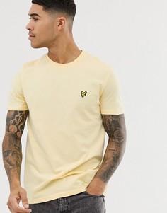 Желтая футболка с логотипом Lyle & Scott-Желтый