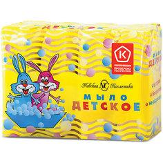 Туалетное мыло Невская косметика Детское, 4 шт по 100 г