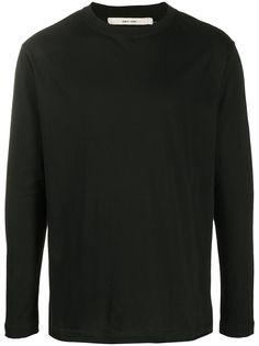 Damir Doma футболка с длинными рукавами и пуговицами на спине