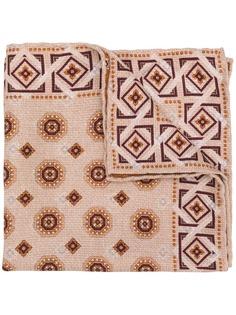 Brunello Cucinelli платок с геометричным принтом