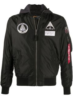 Alpha Industries бомбер MA-1 TT NASA