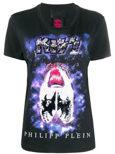 Philipp Plein футболка с принтом X Kiss