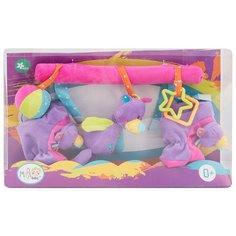 Подвесная игрушка Ути-Пути Мишка и пинетки (25849) фиолетовый