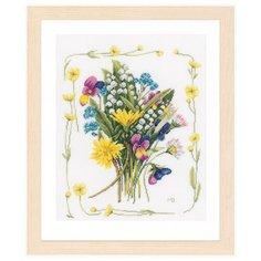 Lanarte Набор для вышивания Bouquet of field flowers 30 х 36 см (PN-0167125)
