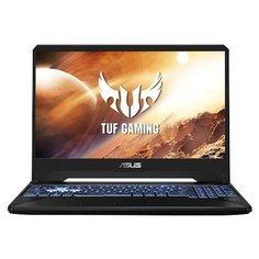 "Ноутбук ASUS TUF Gaming FX505DT-BQ140T (AMD Ryzen 7 3750H 2300MHz/15.6""/1920x1080/8GB/512GB SSD/DVD нет/NVIDIA GeForce GTX 1650 4GB/Wi-Fi/Bluetooth/Windows 10 Home) 90NR02D1-M04460 серый"