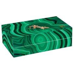 Чай зеленый Abigail Малахитовая шкатулка Мао Цзянь подарочный набор, 100 г