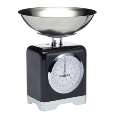 Весы кухонные Kitchen Craft Lovello Retro Black