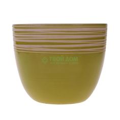 Горшок bolero зеленый 20см Ceramik