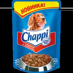 Влажный корм для собак Chappi, говядина по-домашнему, 100г