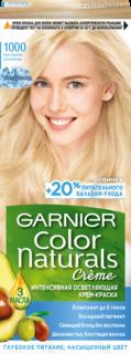 """Краска для волос Garnier """"Color Naturals"""" 1000 Кристальный Ультраблонд"""