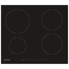 Встраиваемая варочная панель индукционная Indesit IVIA 640 C Black