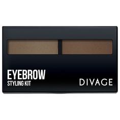 Тени для бровей Divage Eyebrow Styling Kit тон 01