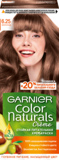 Краска для волос Garnier Color Naturals 6.25 Шоколад 110 мл