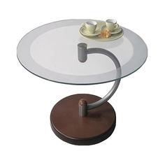 Журнальный столик Мебелик Дуэт 13Н 60х60х50 см, средне-коричневый