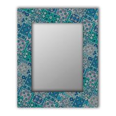 Зеркало настенное Дом Корлеоне Альби 04-0046-50х65 50 х 65 см, разноцветный