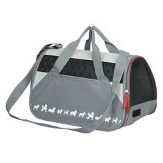 Nobby Cebu переноска-сумка, серая 42х24х26 см