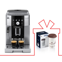 Комплект кофемашина DeLonghi ECAM250.23.SB + термокружка DeLonghi DLSC057 (GLOBETROTT) Delonghi