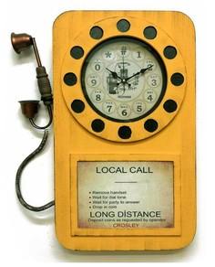 Настенные часы, Galaxy, 53x5x69см, DA-006 Yellow