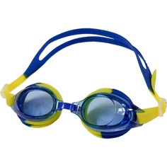 B31526-1 Очки для плавания детские мультиколор (Синий/желтый) Hawk