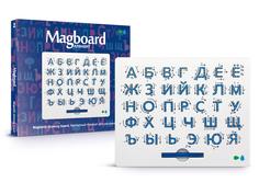 Планшет для рисования магнитами Назад к истокам Магборд Алфавит, белый