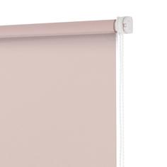 Рулонная штора Decofest Пыльная роза 100x160