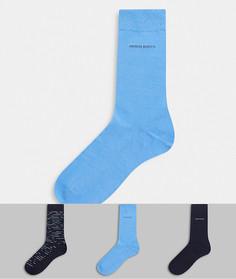 Подарочный набор из 3 пар носков BOSS bodywear-Темно-синий