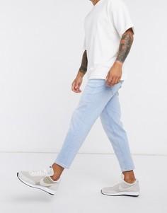 Синие выбеленные джинсы Esprit-Синий