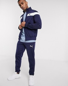 Темно-синий спортивный костюм Puma