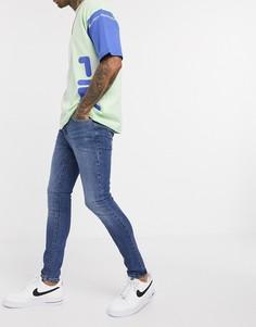 Синие джинсы New Look-Синий
