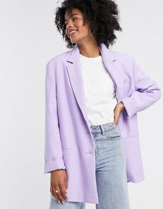 Лавандовый пиджак в винтажном стиле ASOS DESIGN-Фиолетовый