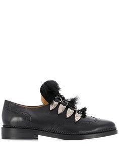 Toga Pulla броги на шнуровке с искусственным мехом