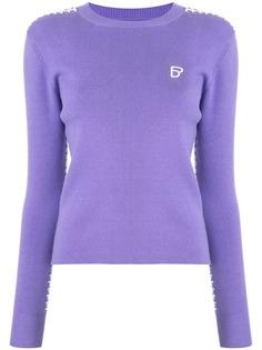 BAPY BY *A BATHING APE® свитер в рубчик с длинными рукавами