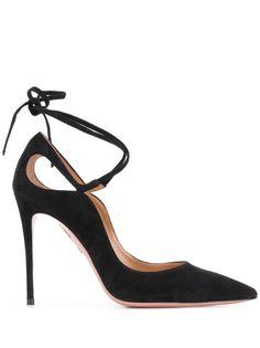 Aquazzura туфли на шпильке с завязками