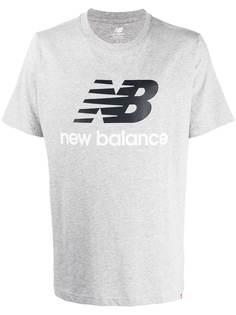 New Balance logo-print short-sleeve T-shirt