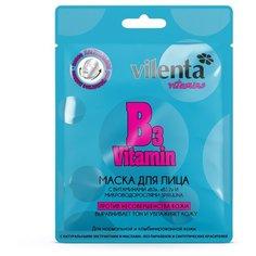 Vilenta маска против несовершенства кожи Vitamin B3 с микроводорослями Spirulina, 28 г