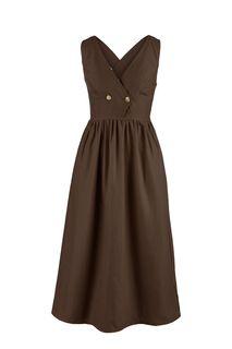 Платье-сарафан с расклешенной юбкой Befree