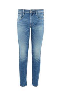 Зауженные синие джинсы Anbass Replay