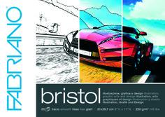 """Альбом для зарисовок """"Bristol"""", А3, 20 листов Fabriano"""
