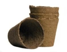 Горшок торфяной, 80х80 мм (20 штук) Гавриш