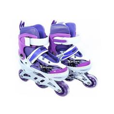Раздвижные роликовые коньки для детей NOVUS AJIS-19.01, размер 27-30