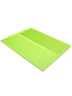 Силиконовый коврик для сушки посуды ZDK (зеленый)