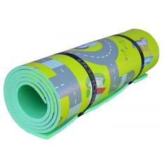 Коврик детский развивающий для йоги и фитнеса Decor 2000х1100х8 Isolon