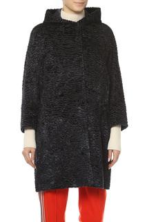 Пальто женское S MAXMARA 90860979 AW/17-18 синее 44 IT