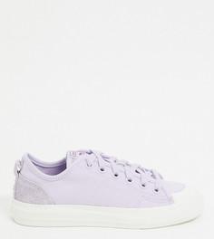 Лавандовые замшевые кроссовки adidas Originals эксклюзивно для ASOS-Фиолетовый