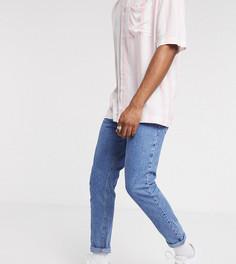 Голубые зауженные джинсы COLLUSION x003-Синий