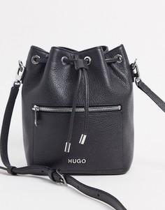 Черная сумка с затягивающимся шнуркомHugo Boss-Черный